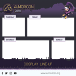 cosplay frame template