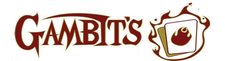 Gambits Cards and Hobbies logo