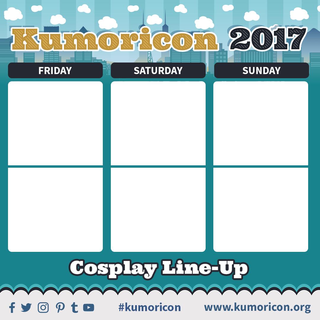 Kumoricon Contests And Sign Ups